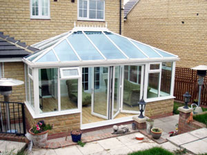 Conservatory roofing and glazing